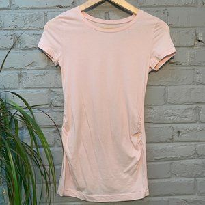 Gap Maternity Pure Body Pale Pink T Shirt